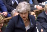 Theresa May scoops first round of votes in Brexit bill by a narrow margin
