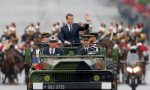 Syrian strikes boost French president's action man image