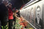 Ukrainians commemorated the victims on the 32nd anniversary of the Tchernobyl disaster