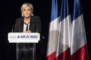 The court said that marine Le Pen must pay about 300 000 euros to the European Parliament