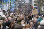 65,000 people take part in Brussels' Climate March