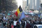 Around 30,000 people march for climate in Brussels