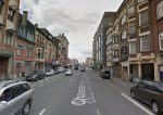 Five people evacuated from a burning building in Brussels