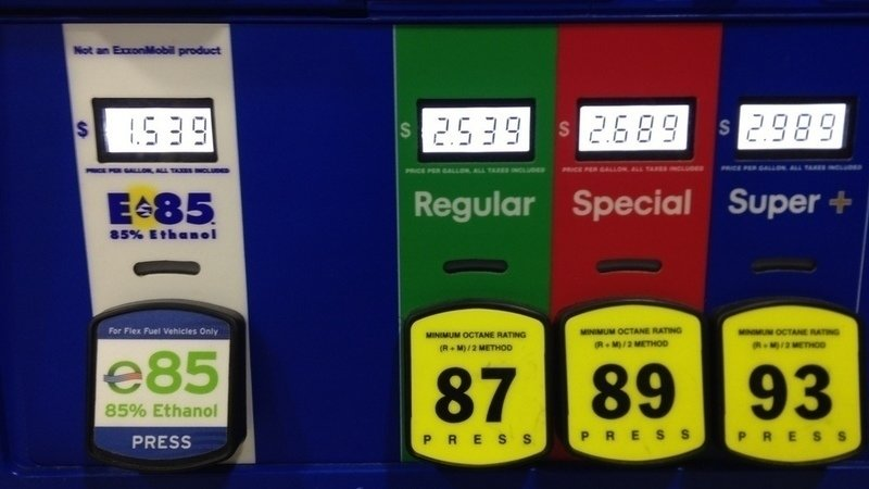 E85 Gas Stations >> E85 To Be Allowed At Gas Pumps Expected To Be Twice Cheaper