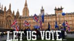British campaign starts on a day without Brexit
