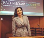 Aselle Tasmagambetova brought a report on endangered Caspian seal to international forum