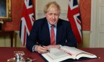 'Historical moment': Boris Johnson signs Brexit withdrawal deal