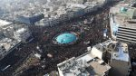 Iran's supreme leader cries when a huge crowd mourns the slain general in Tehran