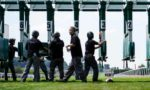 Kiosk merchants issue a security alert on the planned return of horse racing to action